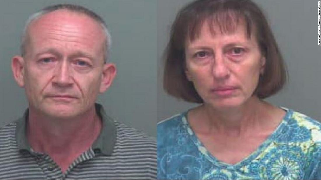 'Doomsday prepper' couple is accused of abusing two victims on their farm for years