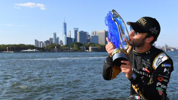 Frenchman Jean-Eric Vergne became the first double champion in the sport's history, defending the title he won last season thanks to three race victories.