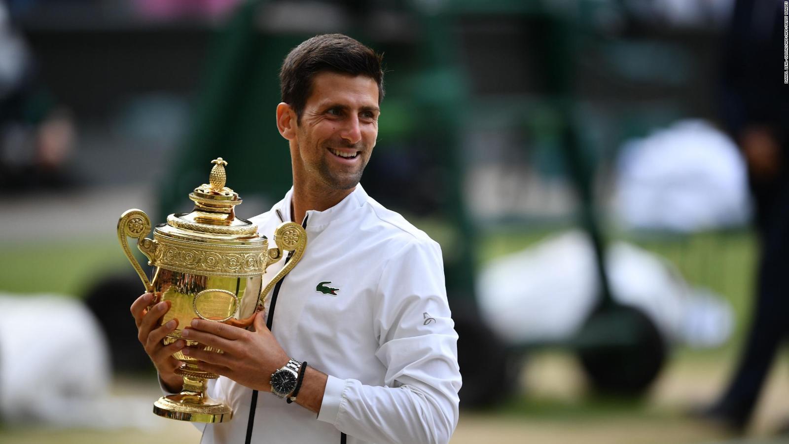 Novak Djokovic Pays Tribute To Kobe Bryant After Australian Open Victory Cnn