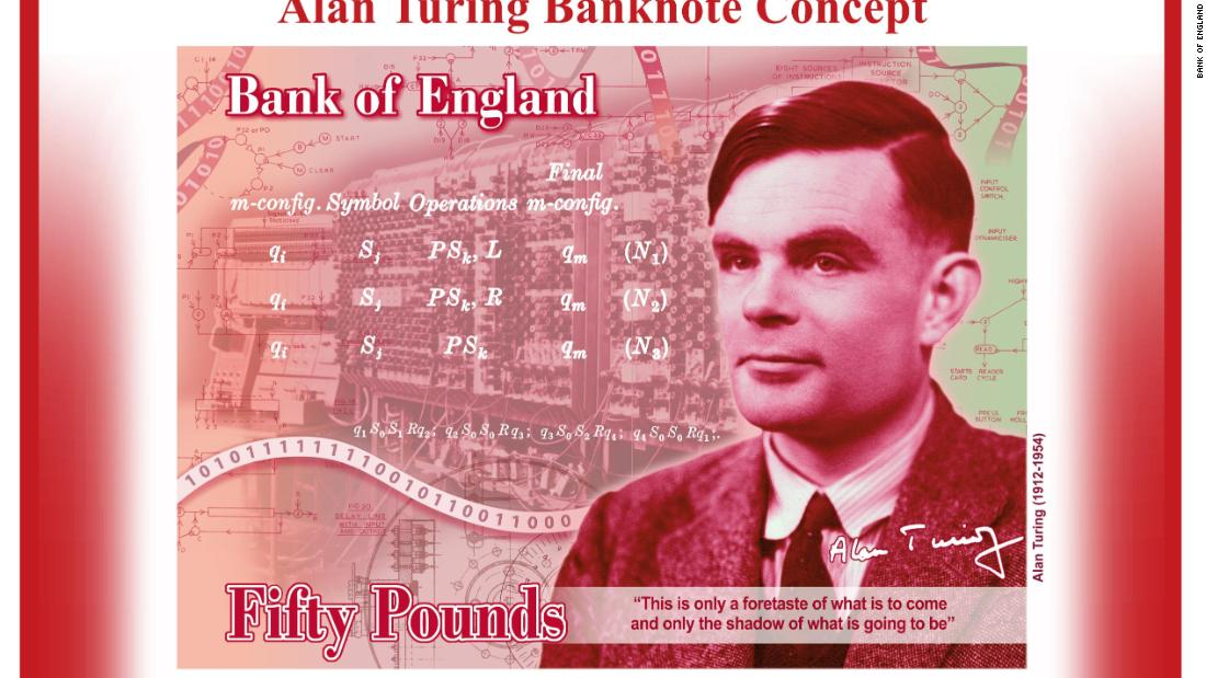The new face of Britain's £50 note