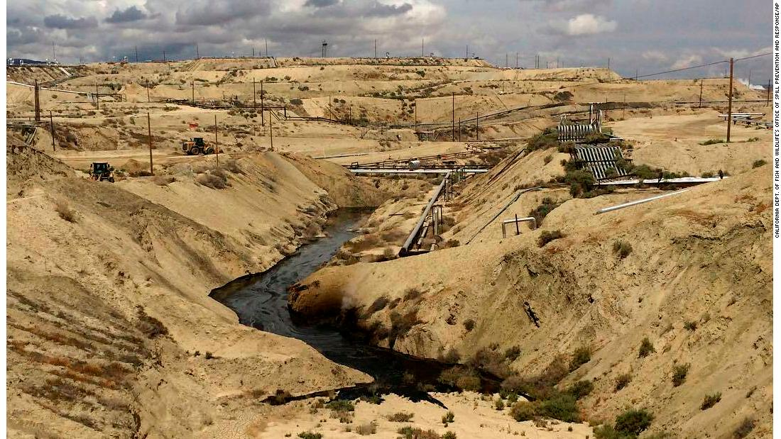 California orders Chevron to 'take all measures' to halt massive spill of oil-water mixture