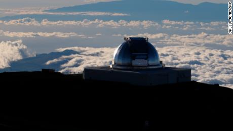 A telescope at the top of Mauna Kea in Hawaii on Sunday, July 14, 2019.