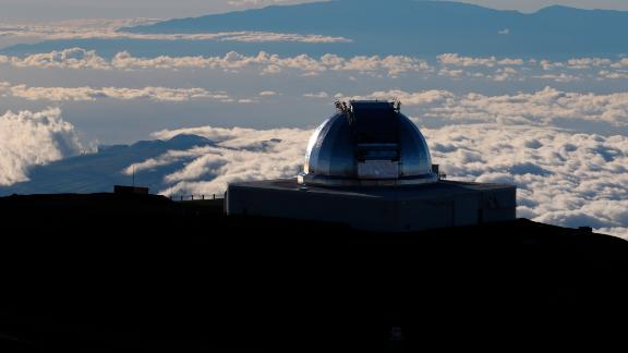 One of a number of telescopes already in use at Hawaii's Mauna Kea.