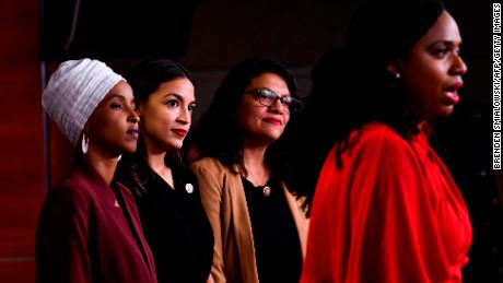 Congresswomen 'squad' respond to Trump's attacks: The US 'belongs to everyone'