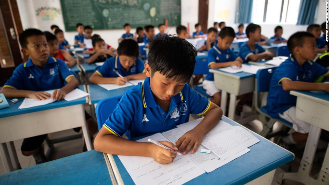 Beijing education reforms aim to help China's over-worked, over-tested students