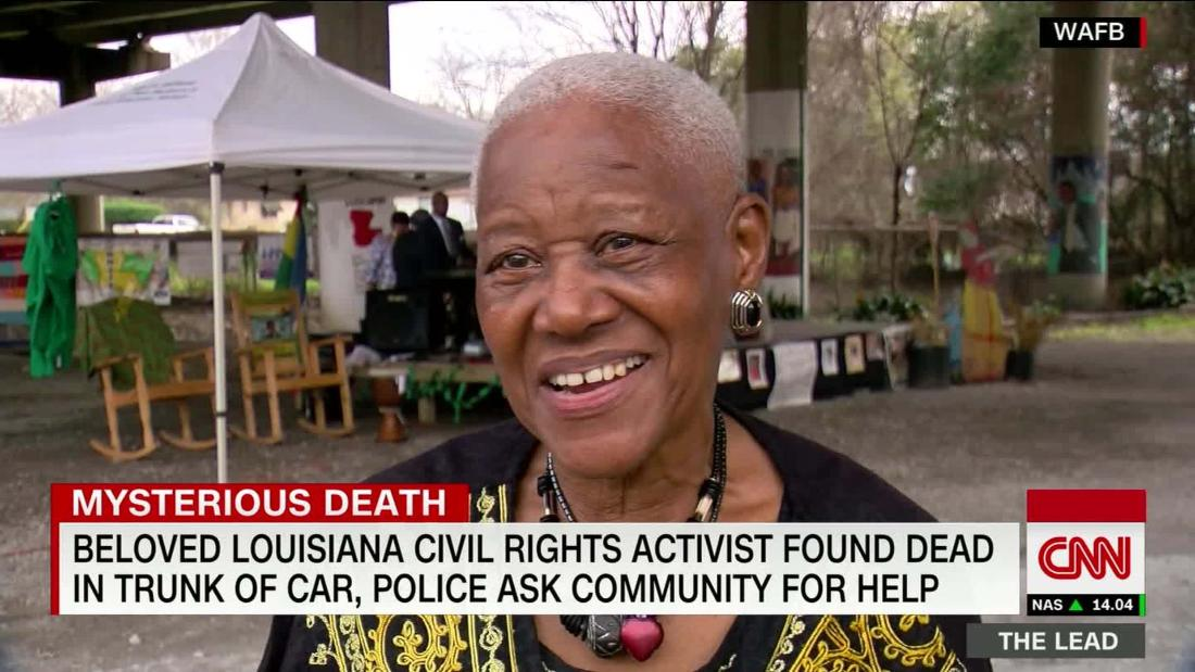 Baton Rouge police chief says he's confident they'll make an arrest in the killing of activist Sadie Roberts-Joseph