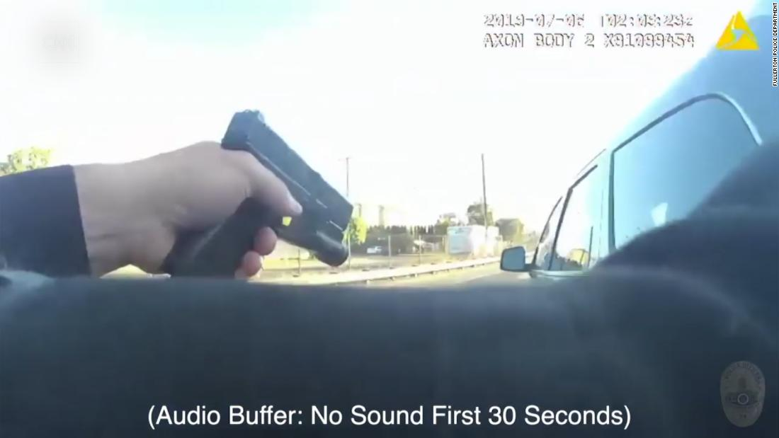 Police release video of officer fatally shooting California teen 'in shooting stance'