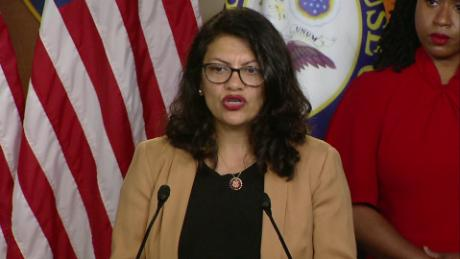 Tlaib: We know this is who Trump is