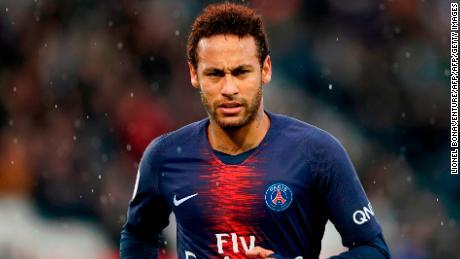 Neymar's future at PSG looks uncertain.