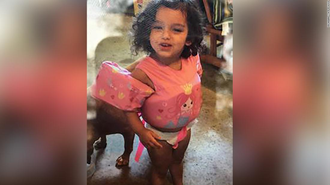 Police are looking for a toddler who disappeared at a Michigan campsite
