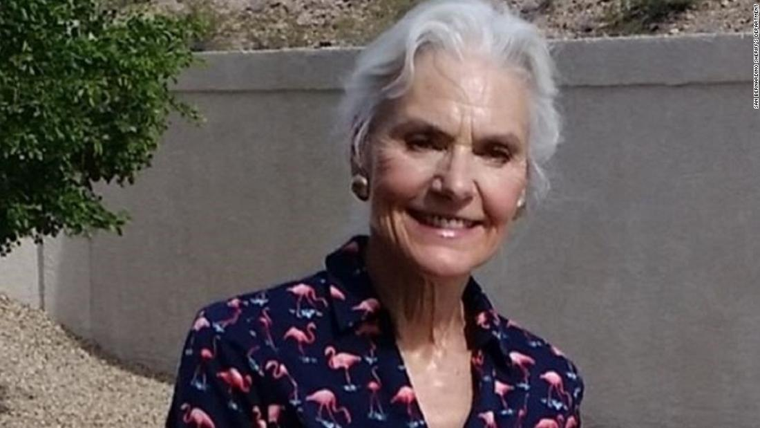 A 69-year-old woman went hiking in California with her husband last week and has not been seen since