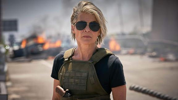 """Linda Hamilton as Sarah Connor in """"Terminator: Dark Fate."""""""