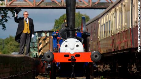 "Could a ""Fat Controller"" figure, famous from children's series Thomas the Tank Engine, help revive the UK's railways?"
