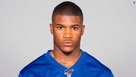 Giants second-year safety Kam Moore was charged with aggravated assault, police say.