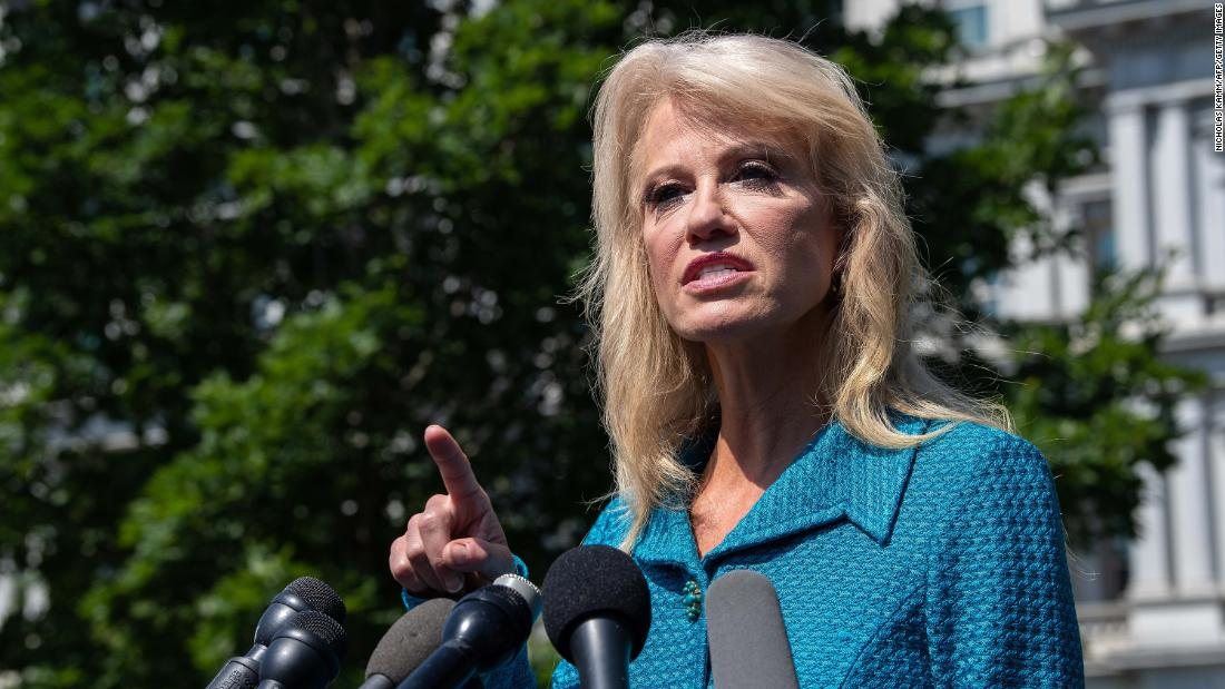 Kellyanne Conway shoots back at reporter: 'What's your ethnicity?'