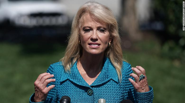 Kellyanne Conway is *seriously* complaining about a 'break from presidential norms'
