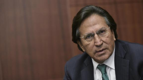 Former President of Peru Alejandro Toledo speaks during a discussion on Venezuela and the OAS at The Center for Strategic andInternational Studies on June 17, 2016 in Washington, DC.