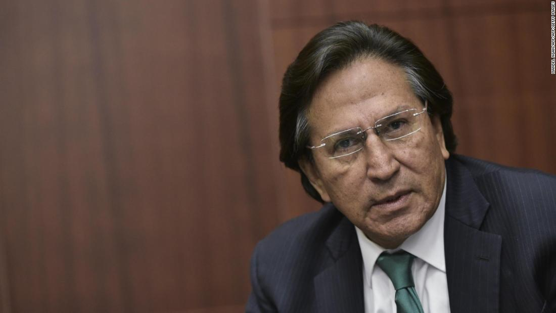 Former Peruvian President arrested in California