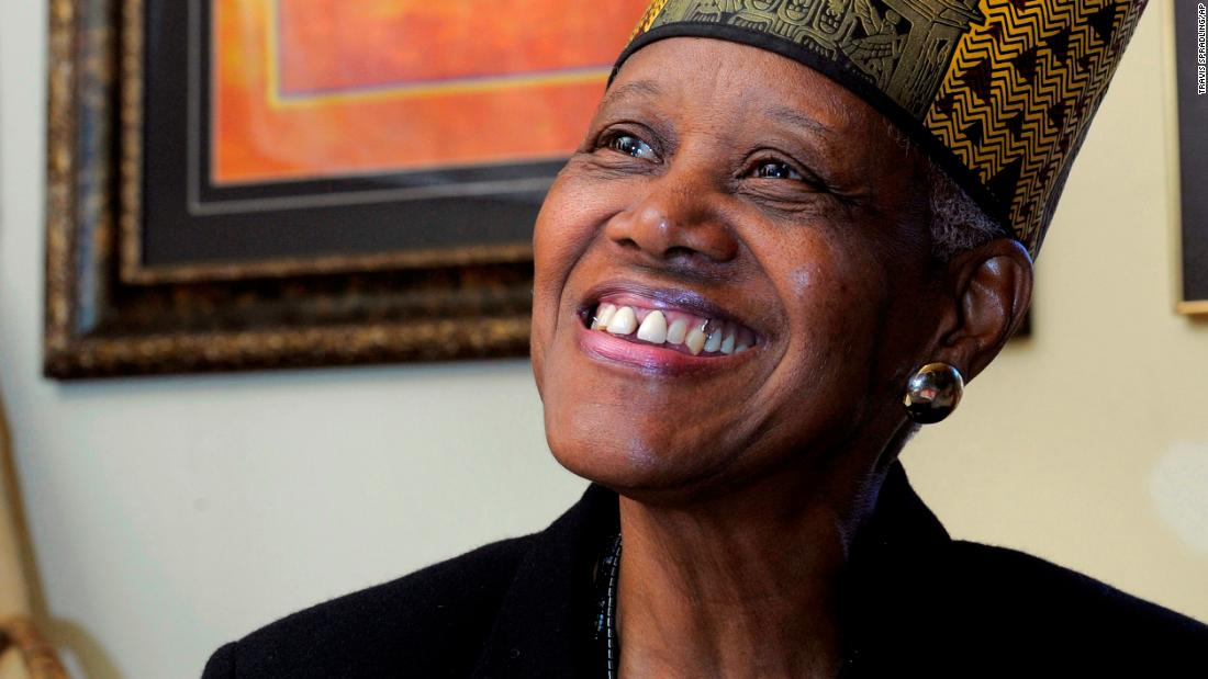 Sadie Roberts-Joseph exuded a 'quiet power' as she enriched her community