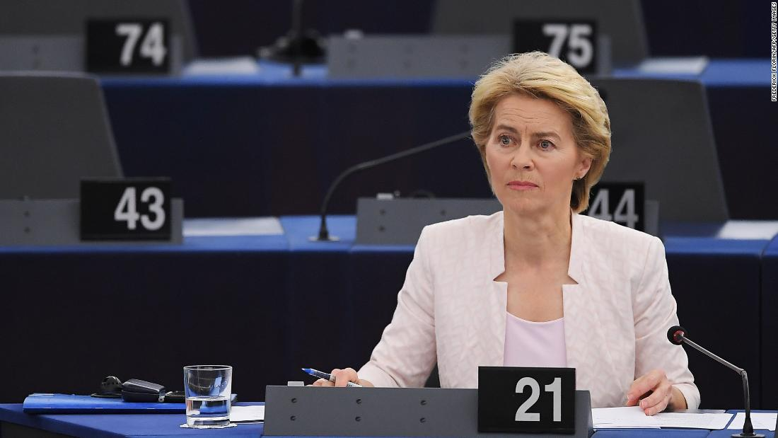 First female European Commission President elected