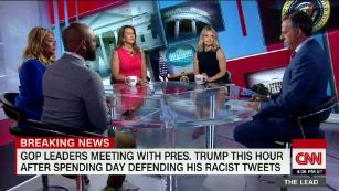 Trump suggests racist tweets were strategic effort