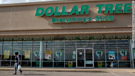 Dollar Tree goal ahead, middle income jumpers.