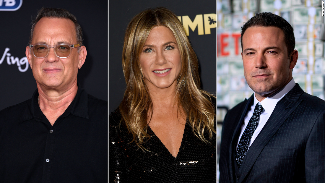 Tom Hanks, Jennifer Aniston and Ben Affleck among celebrities donating to 2020 Democrats
