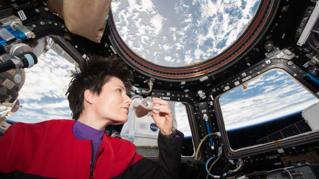 Astronaut Samantha Cristoforetti drank the first authentic espresso in microgravity aboard the International Space Station in 2015. The Italian Space Agency developed an espresso machine called the ISSpresso, along with a microgravity coffee cup, in collaboration with Argotec and Lavazza. It served espressos for 32 months.