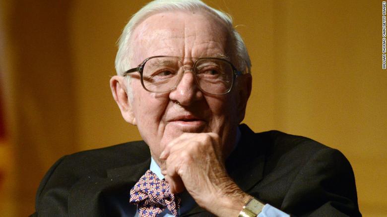Image result for Retired Supreme Court Justice John Paul Stevens dies at 99