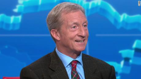 Tom Steyer likely to miss September debate stage after failing to hit 2% in new polls