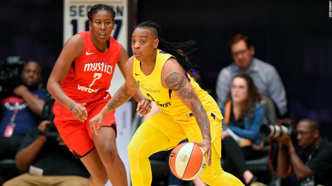 WNBA suspends LA Sparks guard Riquna Williams for 10 games after domestic violence allegation