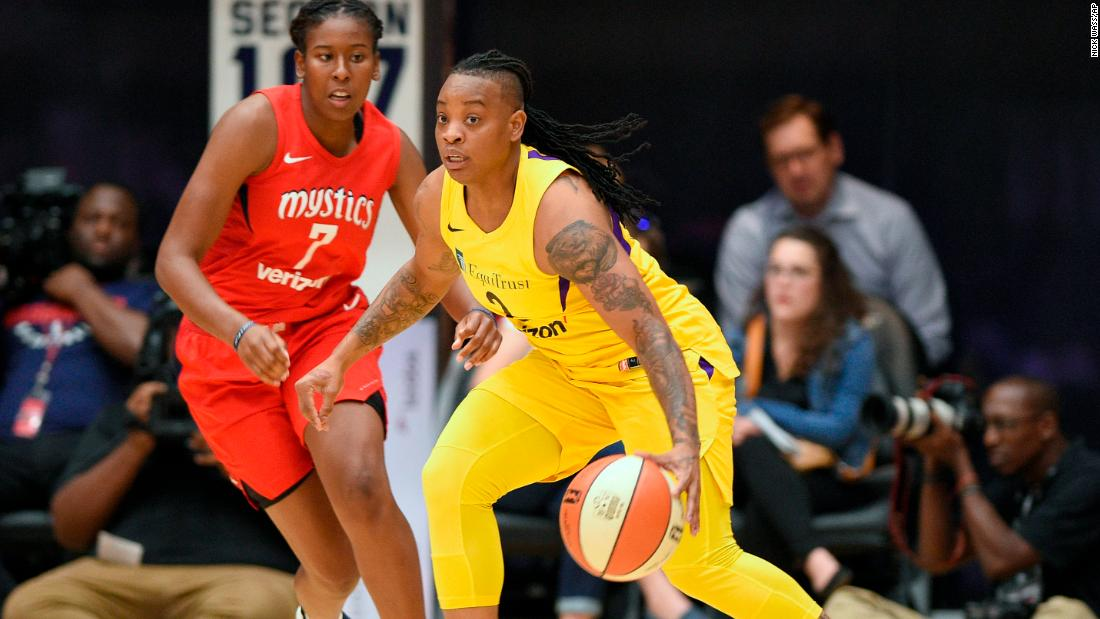 WNBA suspends player after domestic violence allegation