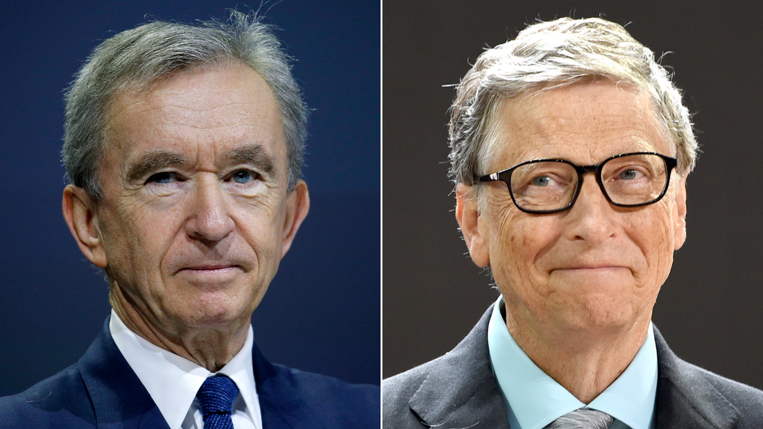 Bill Gates is no longer the world's second-richest person