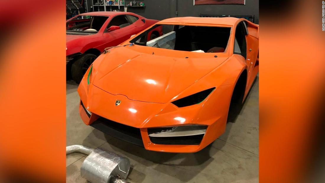 Brazilian police arrest father and son in raid on fake Lamborghini and Ferrari factory