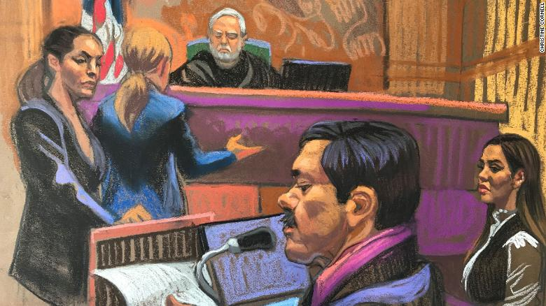 'El Chapo' was sentenced to life in prison after calling his trial unjust and slamming his prison conditions