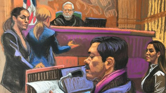 "Joaquin ""El Chapo"" Guzman spoke before he was sentenced to life in prison plus 30 years in federal court on July 17, 2019."