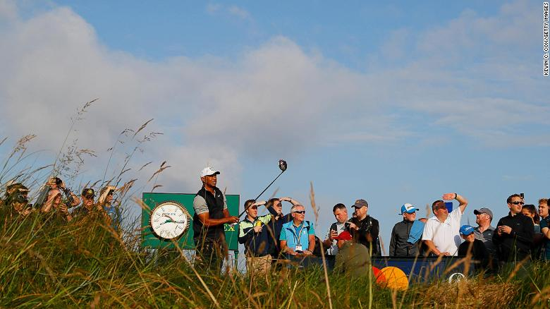 Tiger Woods is among the field for the 148th Open Championship at Royal Portrush.