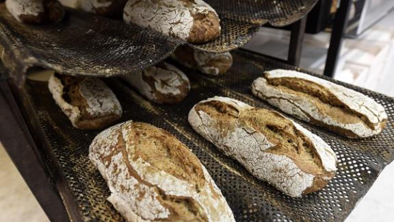 Finnish supermarket chain Prisma offered protein rich bug breads in their grocery stores. The bread contains dried crickets ground into powder and mixed with flour. Each loaf contains 70 crickets, making up around three percent of the bread's weight.