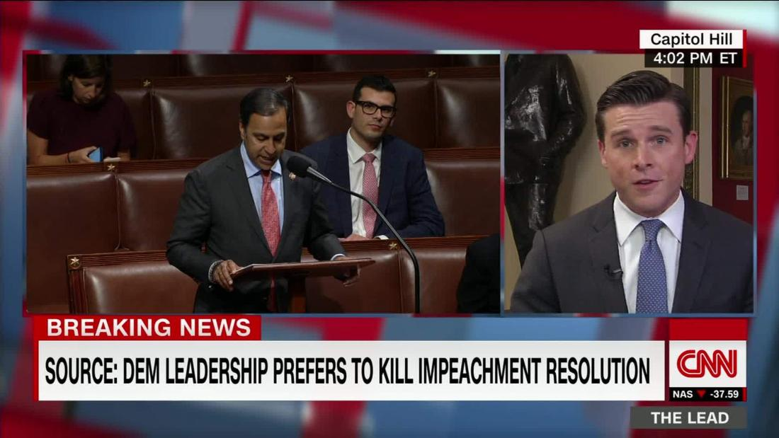 Dem lawmaker who pushed impeachment effort against Trump says he'll try again