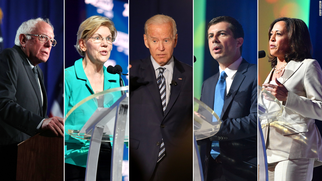 Analysis: 24 Democrats are running for president. Voters and donors like only five of them