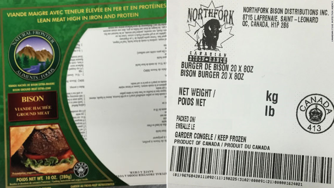 Ground bison meat recalled after 21 people get sick in E. coli outbreak