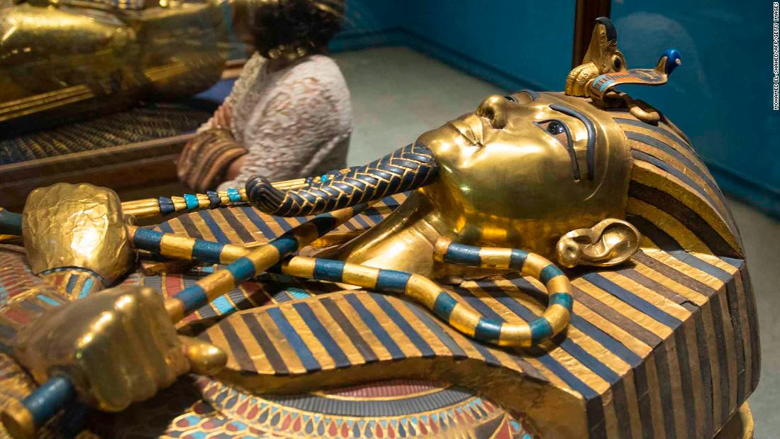 King Tut's coffin to be restored for the first time since discovery - CNN  Style