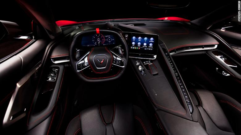 The new Corvette will not be available with a manual transmission, only an eight-speed automatic.