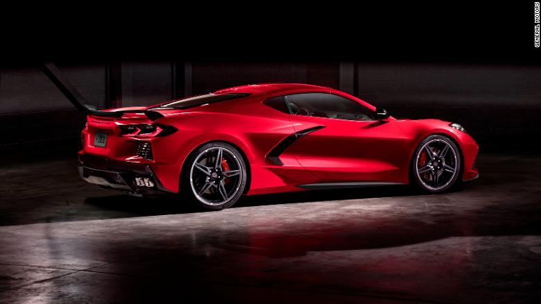 C8 Corvette Stingray Unveiled By Gm Cnn