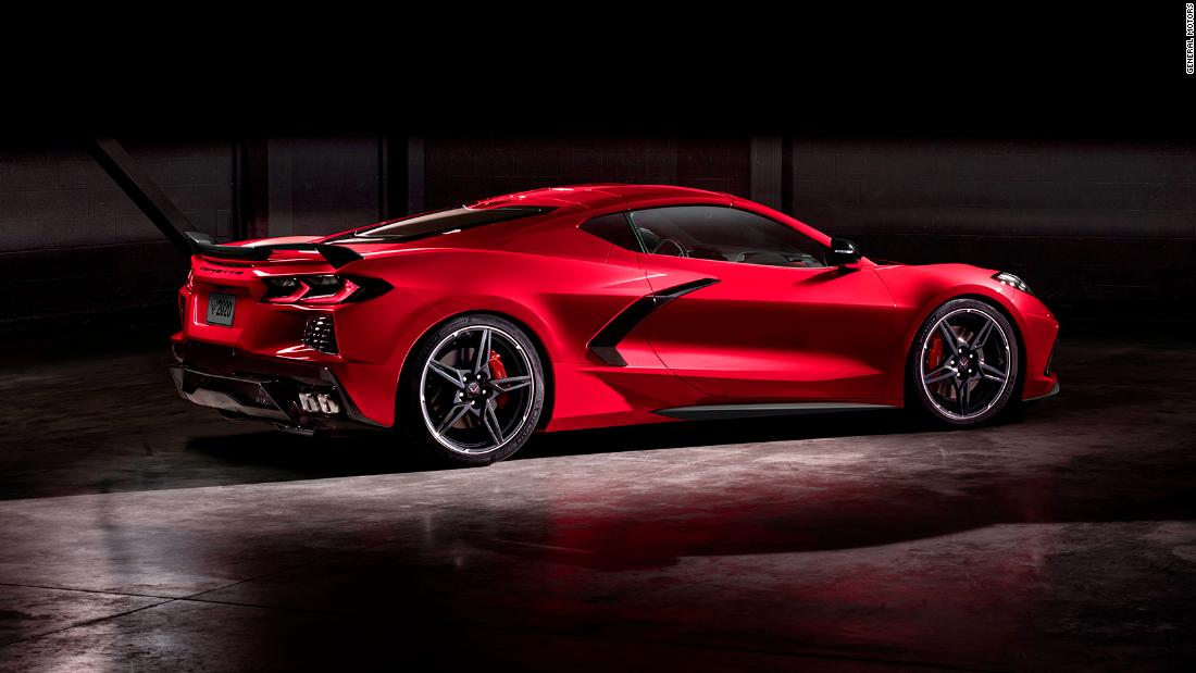 The new Corvette is named MotorTrend Car of the Year