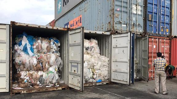 Cambodia is sending back 1,600 tonnes of trash to the US and Canada.
