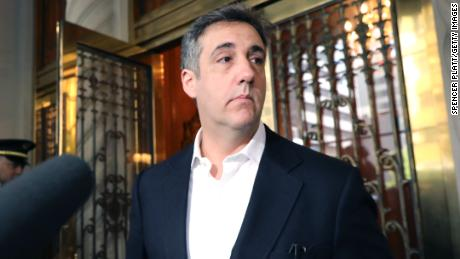 Michael Cohen was jailed for violating the terms of his early release from prison