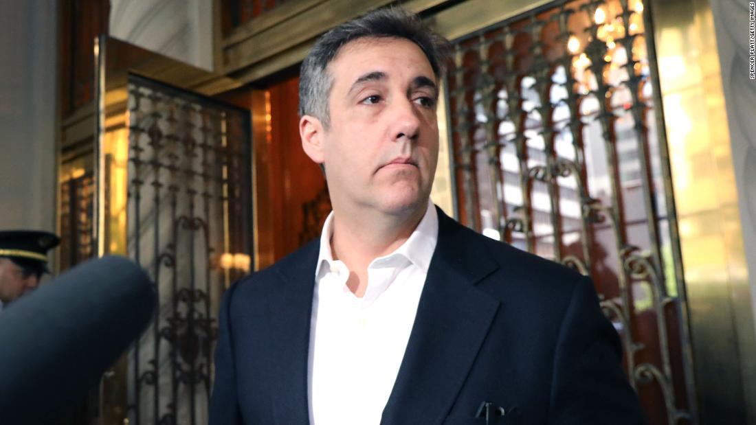 Michael Cohen taken into custody for violating terms of his early release from prison – CNN
