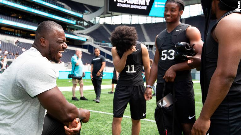 A recent trial in London hosted 150 teenagers attempting to win a place for the inaugural year of the NFL Academy.