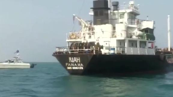 US intelligence have been investigating what happened to the M/T RIAH.